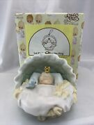 Precious Moments 'let Earth Receive Her King' Ornament 748390 With Box And Coa