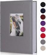 Recutms Photo Albums For 4x6 Photos Holds 300, 3 Per Pages Photo Picture Album P