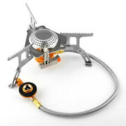 Outdoor Camping Gas Stove Portable Foldable Picnic Hiking Cooking Bur-ner A5k0