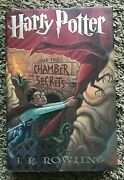 Signed Harry Potter And The Chamber Of Secrets Rowling