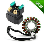 Stator For Yamaha R6 Yzf-r6 Yzfr6 1999 2000 2001 2002 Relay Solenoid New