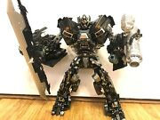 Transformers Custom Ironhide With Fwi2 Battle Cannons Arm Blade For Dotm Leader