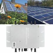 Solar Photovoltaic Power System Micro Inverter 120/230v Automatic Identification
