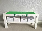 Construction Activity Table Green Base Plates Compatible With Brand Lego