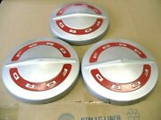 Oem 1960and039s Ford Truck F100 Hub Caps Set Of 3 Original Dog Dish Hubcaps Nos
