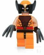 Lego 76022 X-men Wolverine With Mask And Hair - New