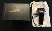 Airguide Model 64 Illuminated Hand Sighting Compass W/ Original Box And Pouch