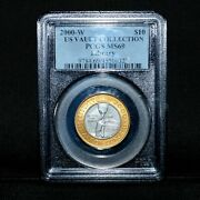 2000-w Library Of Congress Bicentennial ✪ Pcgs Ms-69 ✪ Gold Platinum ◢trusted◣