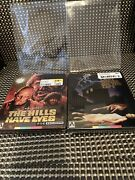 The Hills Have Eyes Blu-ray/ Last House On The Left Steelbook Arrow Video Lot
