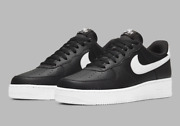 Nike Air Force 1 And03907 Leather Shoes Black White Ct2302-002 Menand039s Multi Size New