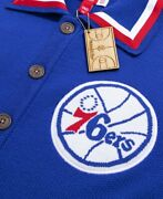 Mitchell Ness X Clot Philadelphia 76ers 1982-83 Authentic Knit Shooting Jersey