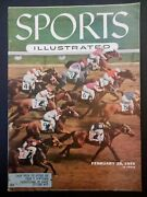 Sports Illustrated Magazine 1955 February 28 Willie Mayes, Horse Racing Derby