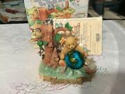 Cherished Teddies Abraham Your Friendship Means The World To Me Retailer Exclusi