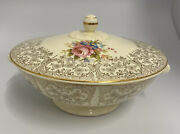 Vintage Taylor Smith Taylor Covered Vegetable Bowl 1940's