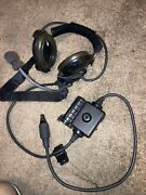 Bose Triport Tactical Military Communication Headset W/ Microphone