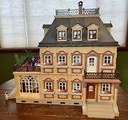 Playmobil Victorian Mansion 5300 Furniture Accessories People Near Complete Euc