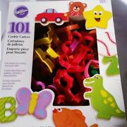 Wilton 101 Cookie Cutters Baking New Plastic