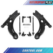 Front Lower Control Arms And Ball Joints For 1999-2005 Volkswagen Beetle Jetta