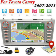 8and039and039 Car Dvd Gps Navigation Radio Stereo Can-bus Unit For Toyota Camry 2007-2011