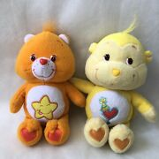 Care Bears Laugh A Lot Bear 9andrdquo Plush Orange W/ Smiling Star And Playful Heart