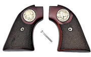 Buffalo Heritage Arms Rough Rider 6 And 9 Shot Grips Checkered Rosewood New