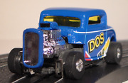 Exclusive 164 Scale 1932 Ford Dos Chrome Metal Body Slot Car Boys And Girls