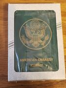 American Embassy Kuwait Most Wanted Playing Cards New New In Box Nib Nip