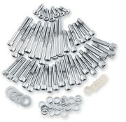 Gardner-westcott P-10-18-01 Cam And Primary Cover Hardware Set - Polished - Chr