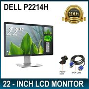 Dell P2214h - Led Monitor - Full Hd 1080p - 22 - Power Cable And Vga Cable
