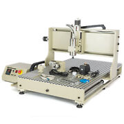 Used 4 Axis Cnc 6090 Router Engraver Kit 2200w Vfd Engraving Milling Machine Usb