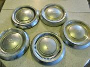 1963 64 And 65 Chevrolet Belair Dogdish Poverty Hubcaps 10.5 / Ratrod