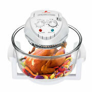 12l Electric Glass Air Fryer Turbo Steamer Roaster Multifunction Healthy Cooker