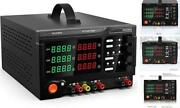 Triple Output Linear Dc Power Supply 30v 5aseries Max 60v Parallel Max