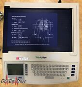 Welch Allyn Cp10 Ecg Ekg With Leads And Clips