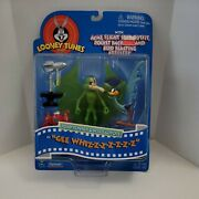 Looney Tunes Road Runner And Wile E. Coyote Figure Jsa, Free Shipping