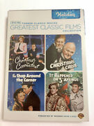 Tcm Greatest Classic Films Collection Holiday Dvd New Sealed A Christmas Carol