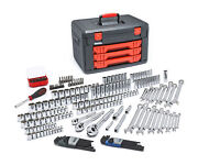 Apex Tool Group 80940 Gearwrench - - 219 Piece Mechanics Tool Set In 3 Drawer...