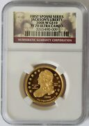 2008 W Jackson Liberty Proof First Spouse Gold Coin Ngc Pf70