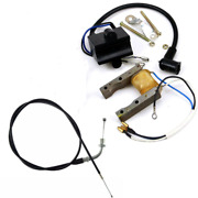 New Throttle Cable Ignition Coil Magneto For 49 60 66 80cc Motorized Bike