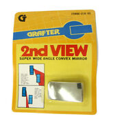 Second View Super Convex Blind Spot Mirror Reverse Side Watch Buy 1 Get 1 Free