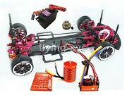 Alloy And Carbon 1/10 Sakura D3 Drift Chassis Frame And Skyrc Leopard 60a Esc Combo