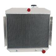 4-row Radiator Fits 1955 56 57 Chevy Bel Air/ One-fifty/two-ten Series 4.3l V8