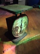 Vintage Scale Steampunk Primitive American Family 1912 Patent 60 Lbs