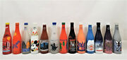 Nsda Convention Commemorative Painted Soda Bottles Ibie Interbev Mixed Lot Of 13
