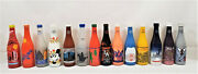 Lot Of 14 Nsda Convention Commemorative Painted Soda Bottles Ibie Interbev