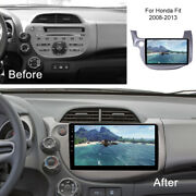 Car Dvd Player Stereo Radio Gps Navi Wifi Android For Honda Fit Jazz 2008-2013