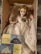 Vintage Nancy Ann Style Show Doll Her Majesty The Queen 1950andrsquos Nasb Hard Plastic