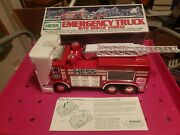 Hess 2005 Emergency Fire Truck And Rescue Vehicle With Flashing Lights And 4 Sounds