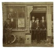 Vintage 1900s Steam Pipe Fitters Plumbing Gas Trade Signs Occupational Photo