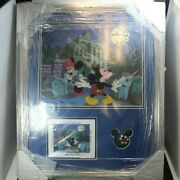 Disney Le Framed Pin Haunted Mansion No Turning Back Now Ink And Paint 2014 Mickey